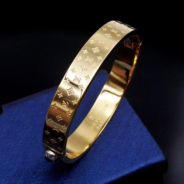 Marca de calidad superior 316L Brazalete de acero de titanio con color negro para hombre pulsera en 5.7 * 4.9 cm regalo de joyería de boda de moda PS6260A