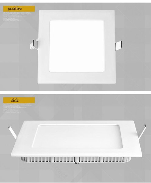 size 40 f53a0 aa88f 2019 Dimmable LED Panel Light Ceiling Lighting 9w 12w 15w Led Recessed  Panel LightCold / Warm White 2835SMD AC85 265v From Dclight, $5.41 |  DHgate.Com