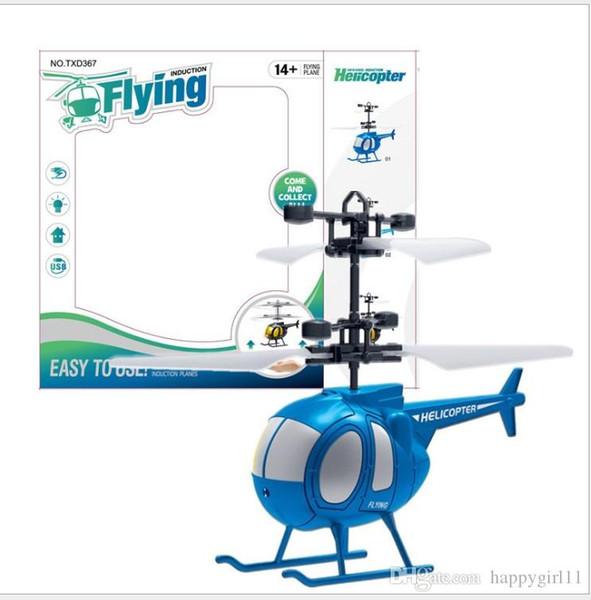 Sensore elettrico RC Drone bambini giocattoli sfera di volo dei velivoli Led lampeggiante Light Up Toy induzione per i bambini Serventi LED Gadget