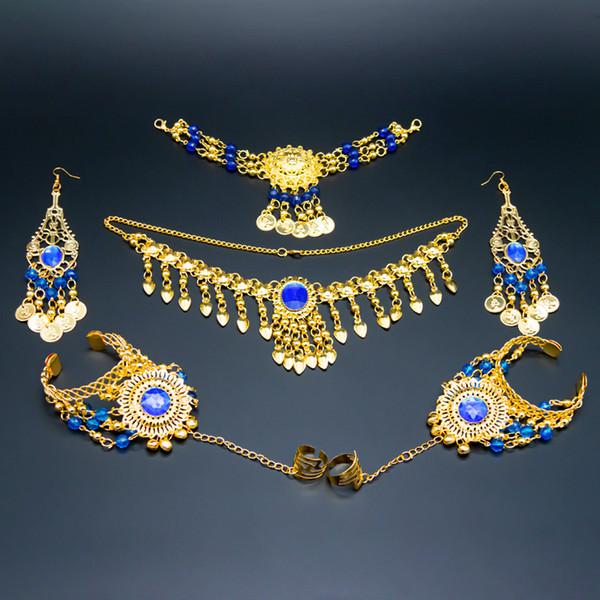 Royal blue-6pcs set