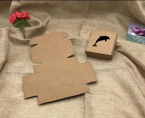 Multi estilos regalo / dulces / caja de embalaje DIY hecho a mano con amor cartón regalo paquete caja de presentación joyería 50 piezas
