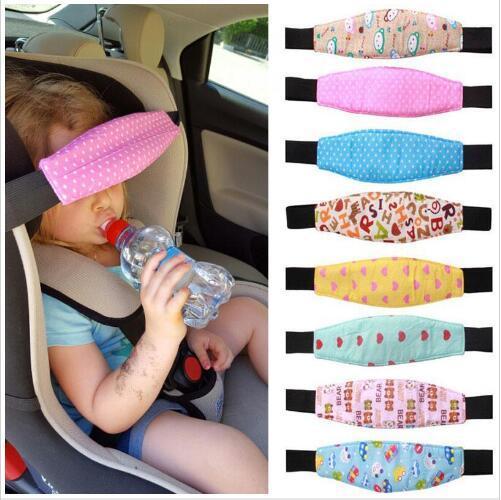 Passeggino Seggiolino di sicurezza per auto Posizionatore di sonno Passeggino Supporto per testa per bambino Cintura di fissaggio Passeggini per passeggini regolabili Accessori Cinghia per dormire B5808
