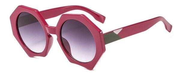 Colore lenti: viola rosso grigio