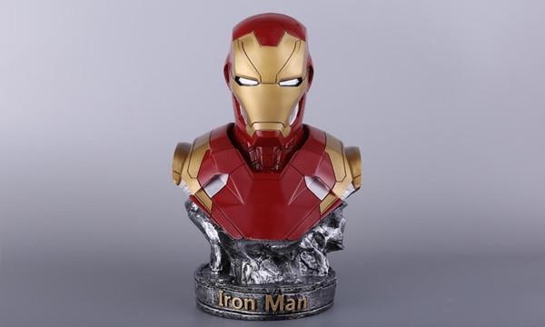 Resina GK Modello Iron Man MK46 Figura Busto Souvenir del ventilatore Altezza 36 cm Circa 3,2 kg 5 colori