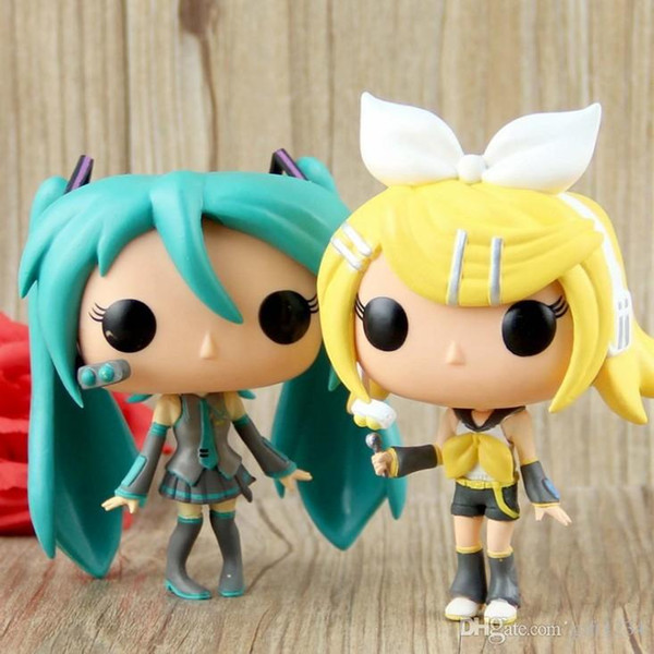 Cute present Funko POP Vocaloid - Hatsune Miku Vinyl Action Figure With Box # 37 39 Gift Doll Toy Free Shipping