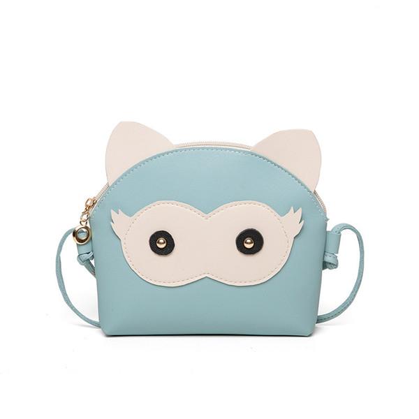 Adorable Fun Owl Shell Bag Children 2019 Fashion Cartoon Cute Panel Shoulder Handbags Women Mini Crossbody Bag for Little Girls