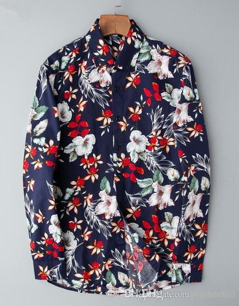 Brand New Shirts pour hommes Hommes d'affaires hommes Chemise Casual chemises habillées à manches longues Méduse Rétro luxe shirt23
