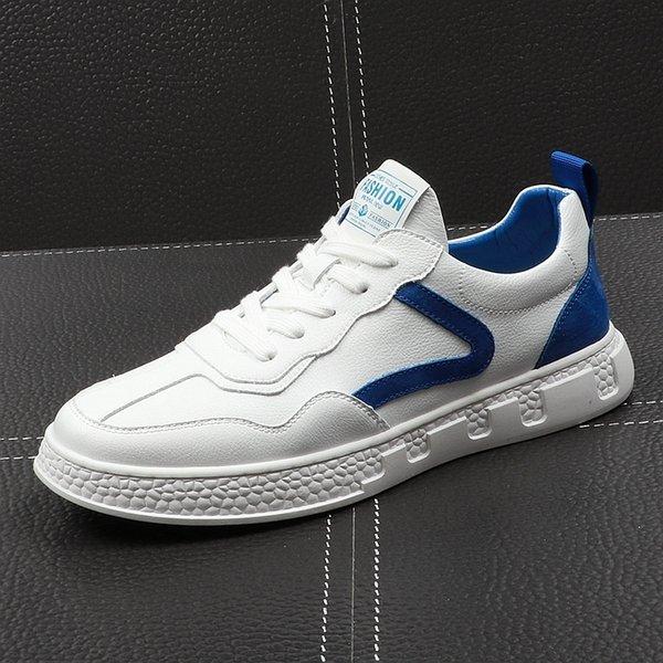 [white blue]