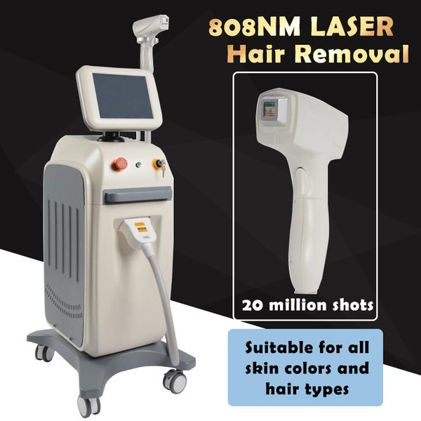 Professional laser hair removal machine 808nm diode laser Soprano lazer hair remover beauty equipment Suitable for all skin types