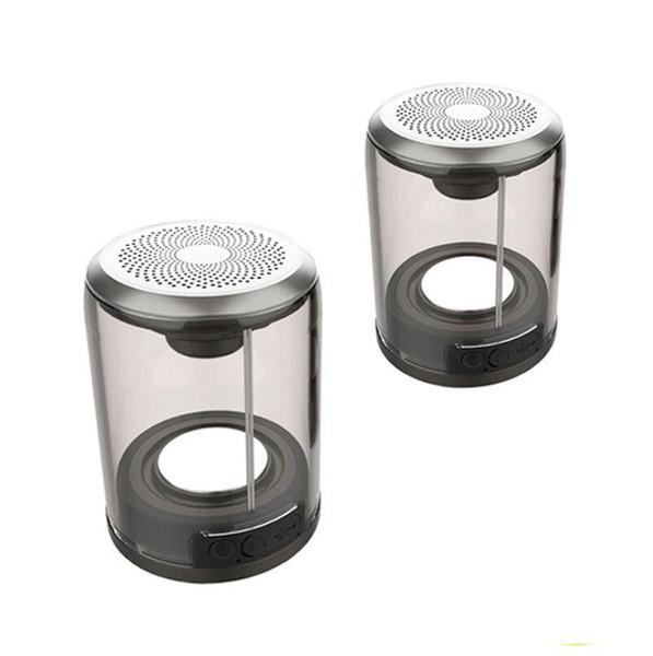 TWS Drahtloser Bluetooth-Lautsprecher Wasserdicht Wirklich Magnetischer Sauger Bluetooth-Lautsprecher Split Surround-Soundsystem Eins von zwei Mini-Outdoor-Paar