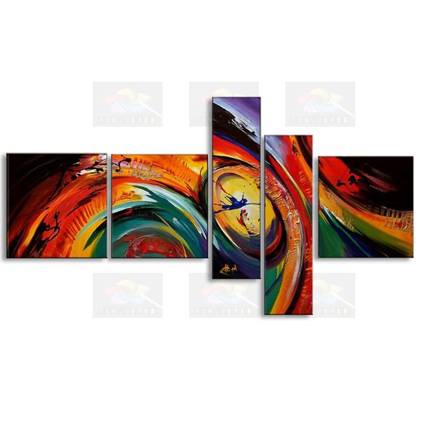 handmade oil painting on canvas modern 100% Best Art Abstract oil painting original directly from artist COXI5-022