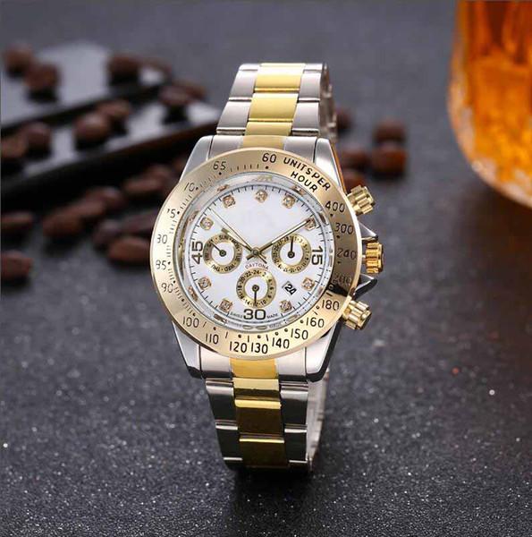 Best Quality Designer Watch Women Ceramic Bezel Stainless Steel With Glide Lock Clasp Quartz Mechanical Calendar Watches relojes A137