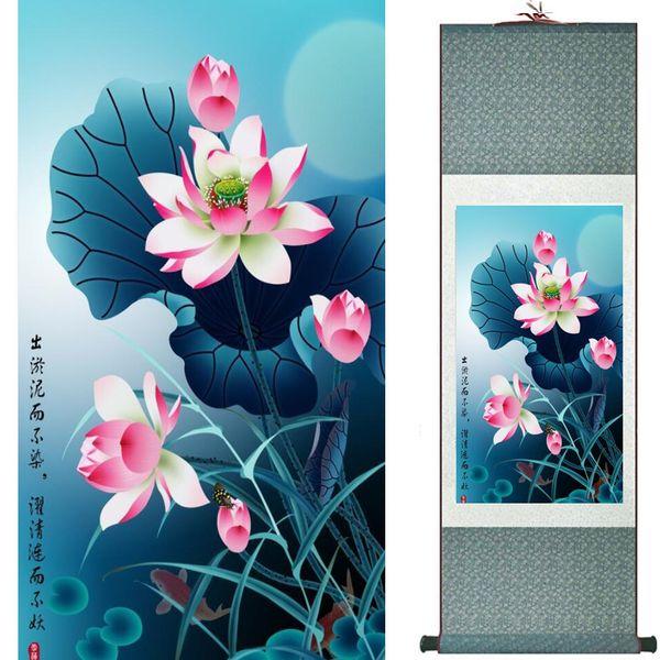 Fleurs Peinture à l'art traditionnel chinois décoration maison paintings20190905008