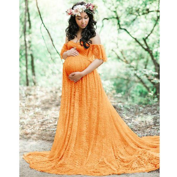entent / Accesorios de fotografía de maternidad larga Vestido de embarazo Fotografía Vestidos de maternidad para sesión de fotos Vestido de embarazada Vest