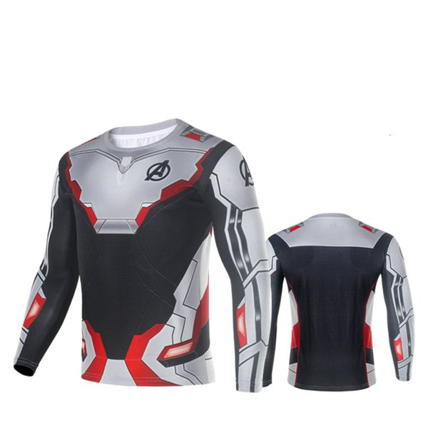 Cosplay Half Sleeves T-Shirt,T-shirt with long sleeves, Movie Hero Breathable Cosplay Costume 3D Print Movie Robot Style Shirt for Men
