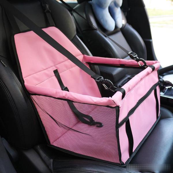 Design ordinaire Pet Carrier Car Seat Pad Safe Carry Bag House Puppy Cat étanche Accessoires Voyage voiture Couverture imperméable pour chien Panier B1