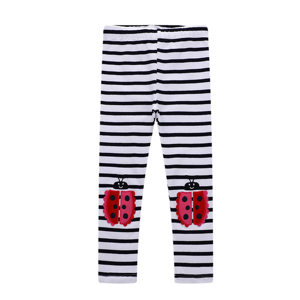 New Baby Girls Unicorn Horse Print Leggings for Baby Clothing Kids Girls Fashion Patterns Appliqued Tights Children Long Pants