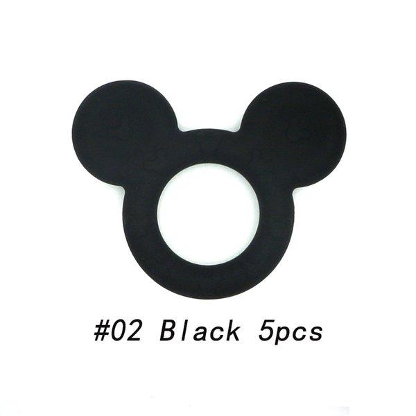 02 Schwarz 5pcs