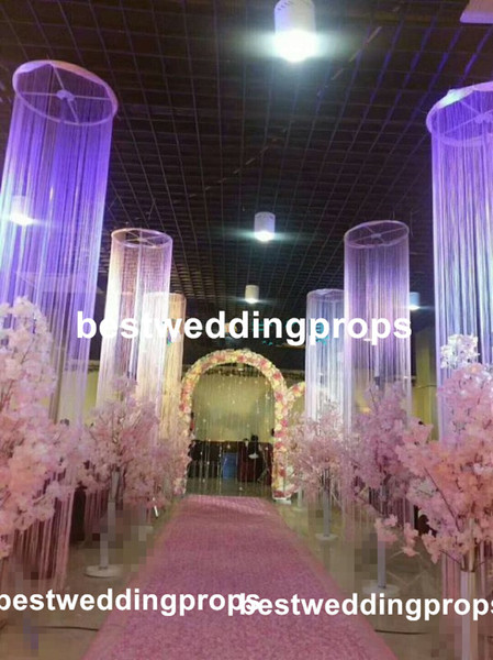 New Style Wholesale Customize Cheap Wedding Stage Backdrop Stand Decoration Best0555 Girls Party Supplies Graduation Party Decoration From
