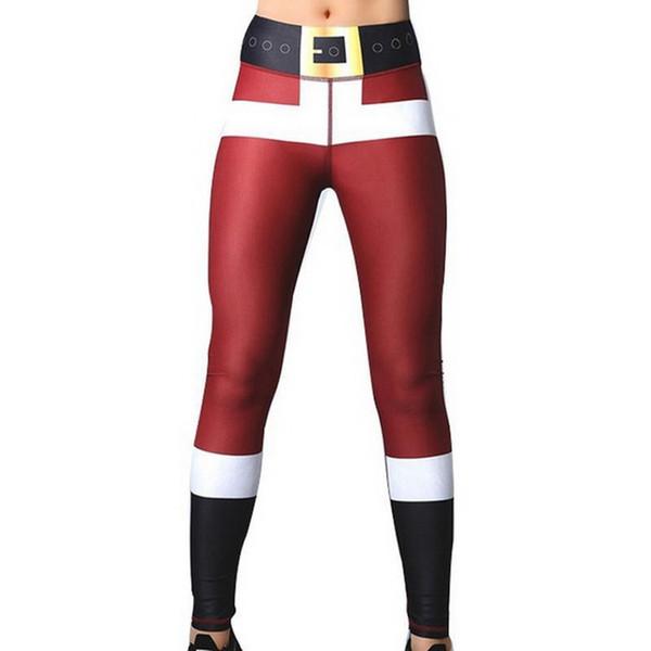 Leggings di stampa delle donne 2019 mettono l'anca a vita alta elastica che legging nessun leggings di idoneità trasparenti nessun pantaloni respirabili trasparenti
