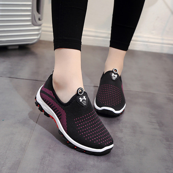 Designer Dress Shoes Spring and Autumn Soft and Comfortable Breathable Cloth Wear-resistant Anti-slip Portable Casual Sports Women