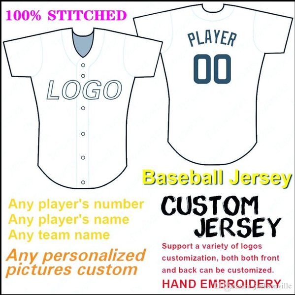 Custom baseball jerseys Detroit Home 2019 All-Star Game Patch Flex Cool Base Authentic Collection American Football Jersey All Stitched 4xl
