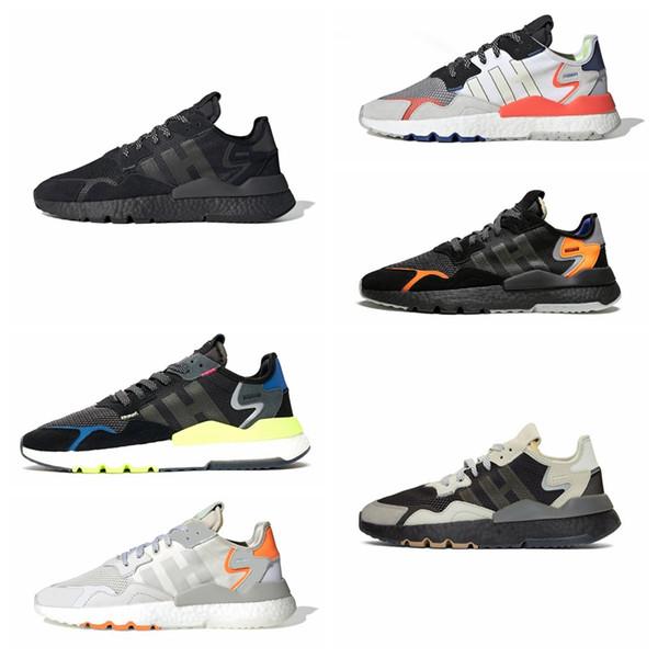 Nite Jogging Yapan Koşu Ayakkabı 3 M Yansıtıcı Erkekler Womens Üçlü Çekirdek Siyah BUZ Nane Erkek Traner Moda Tasarımcısı Açık Havada Spor Sneakers 36-45