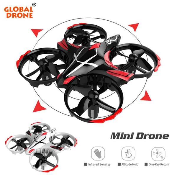 wholesale Mini Quadrocopter Micro Drones Dron RC Helicopter Infrared Sensing 6 Axis Gyro 2.4G Gift For Toys Mini Drone