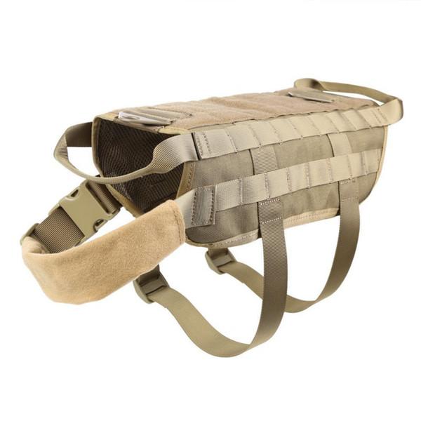 Modular Tactical Hunting Clothing Dog Molle System Nylon Vest Jacket Camouflage
