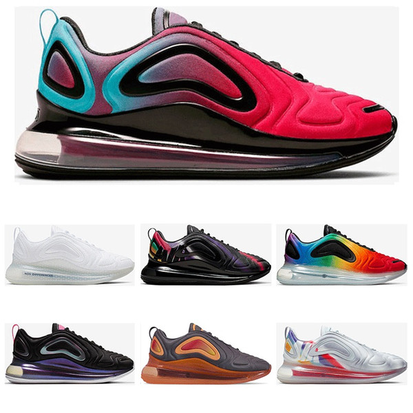 2019 Hotsale mens running shoes MULTICOLOR White University Red BE TRUE Metallic Silver VOLT womens sports sneaker trainers size 36-45