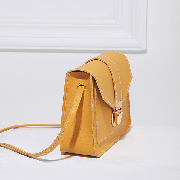 Small Crossbody Purse for Women PU Leather Shoulder Bag for Girls