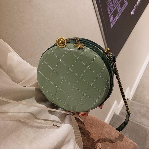 Female Round Crossbody Bags For Women 2019 High Quality PU Leather Luxury Handbags Designer Sac Ladies Shoulder Messenger Bag