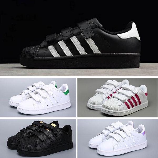 Compre Adidas Originals Superstar OFERTA CALIENTE Off Superstars Originales  Holograma Blanco Iridiscente Junior Superstars 80s Pride Sneakers Super ...