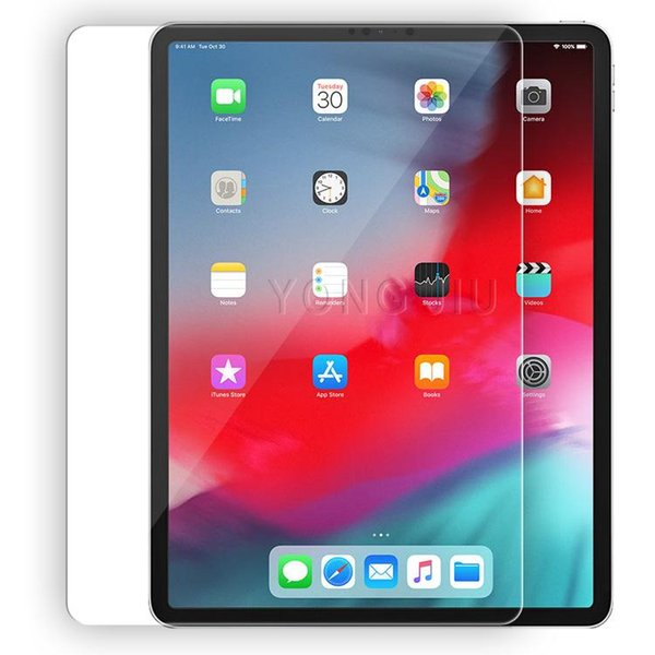 Lower price 0.3mm 9H Tempered Glass For iPad 2018 12.9 iPad Pro 11 Glass For iPad Pro 10.5 inch Screen Protector Protective Film