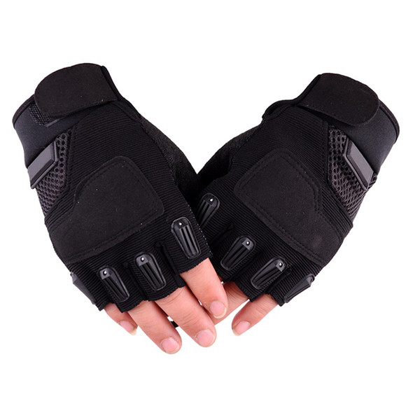 Men Gym Gloves Half Finger Military Army Tactical Anti-skid Guantes Outdoor Sport Women Ridding Fingerless Gloves