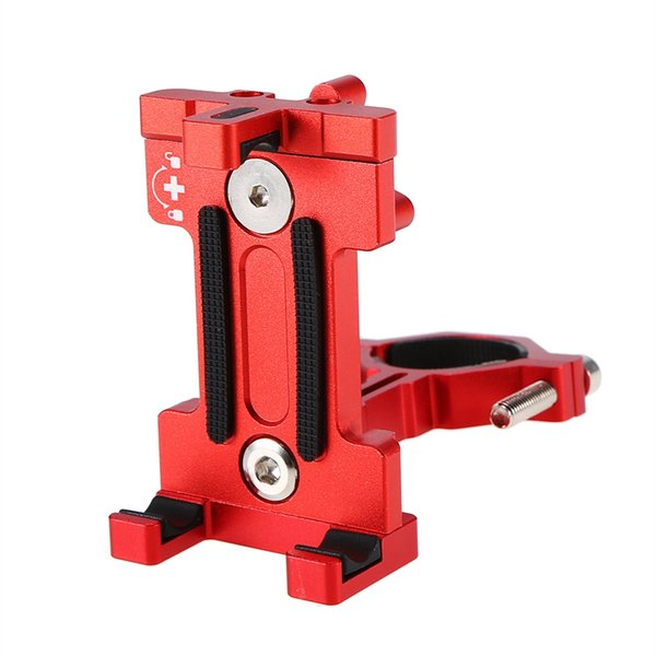 Bike Phone Mount Holder MTB Adjustable Cycling 3.5 to 7IN Phone Clamp 360 Rotatable Rack Bicycle Accessories #331752