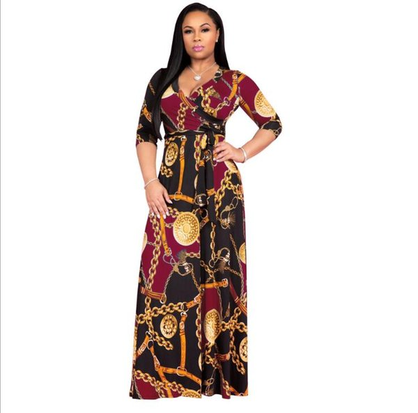 Roupas africanas para as mulheres o-pescoço bazin áfrica dress dashiki mulheres dress 2019 africano impressão outwear escritório bazin riche party dress tamanho grande