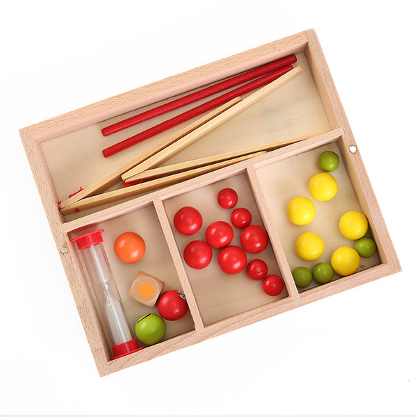 Intelligence toys suzakoo Montessori clip bead game intelligent toy interactive early education for children no hourglass