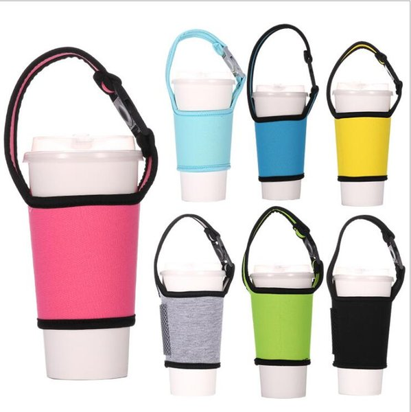 Water Bottle Carrier Neoprene offers great insulation protection Cover Vacuum Cup Protective Jacket Outdoors Use Bottle cover