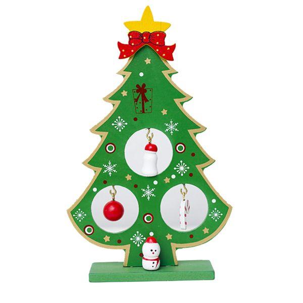 COMPUDA productos árbol de navidad arbol de navidad de Año Nuevo mini árbol de Navidad colocado en el escritorio Decoración L822
