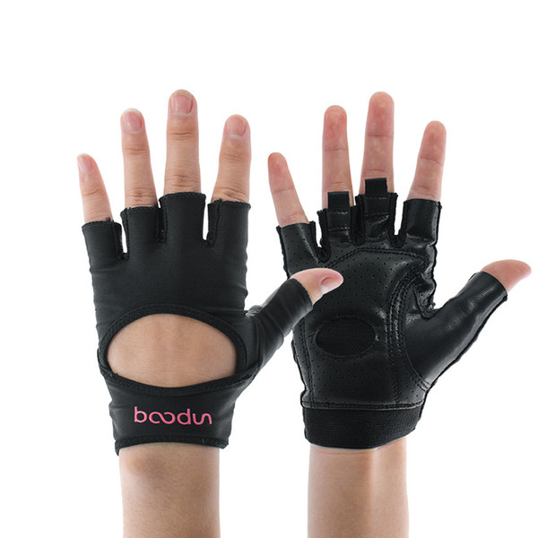 Women Fitness gloves Gym Weightlifting Cycling Yoga Bodybuilding Training Female Breathable Non-slip Half Finger Gloves wholesale