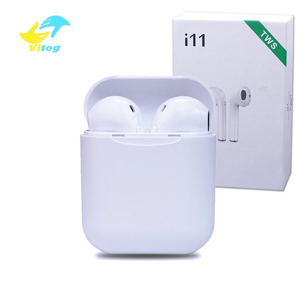 I11 tws bluetooth 5.0 wireless bluetooth headphones ture stereo Earphones wireless headset earbuds with retail package