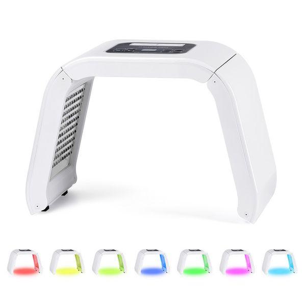 VENDA QUENTE 4 Luz LED Máscara Facial Luz PDT Para Terapia Da Pele máquina de beleza para o rosto da pele rejuvenescimento beleza equipamentos de beleza