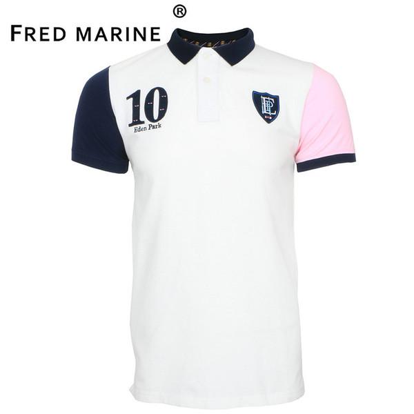 Nouveau meilleur vente COTON Eden park Short polo pour Hommes France marque Taille M L XL XXL broderie vêtements de maison t-shirts décontractés shorts