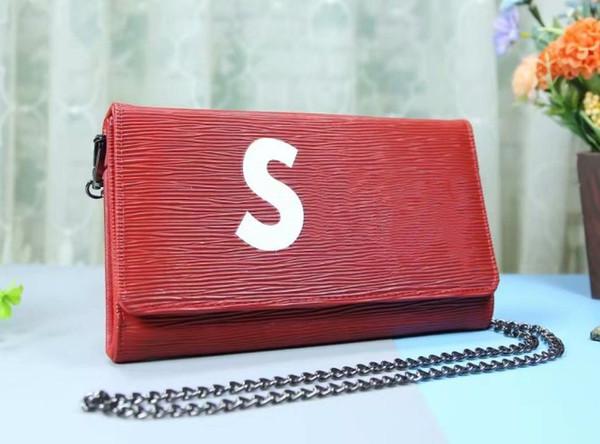 2018 famosa marca Designer de moda feminina de luxo sacos de bolsas de couro da senhora PU sacos de marca bolsa bolsa de ombro