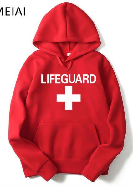 2019 Nouveau Chapeau Guard Guard LIFEGUARD Lifeguard Plus Flannel Guard Pullover Sportswear Usine Vente Directe