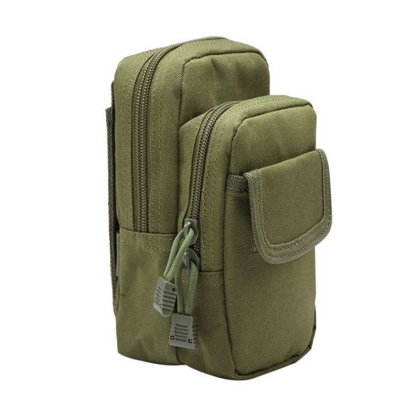 Outdoor Military EDC Nylon Tactical Molle Waist Pack Tools Utility Sundries Pouch Equipment Packs Bags #743731