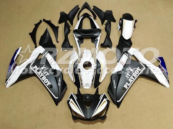 Nova Injeção De Plástico ABS Motocicleta Carenagem Kit Para YAMAHA R3 R25 2014 2015 2016 14 15 16 Cowlings Carroçaria conjunto itália playboy