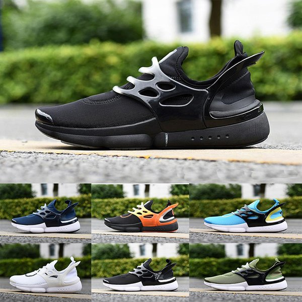 2019 New Presto Ultra BR QS 6 Running Shoes Men Women Yellow Oreo Outdoor Fashion Jogging Sneaker Shoe Trainer Size 36-45