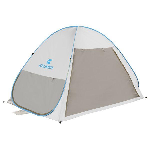 Açık Taşınabilir Plaj Çadır Otomatik Anında Pop Up Hafif Açık UV Koruma Kamp Balıkçılık Çadır Cabana Güneş Barınak